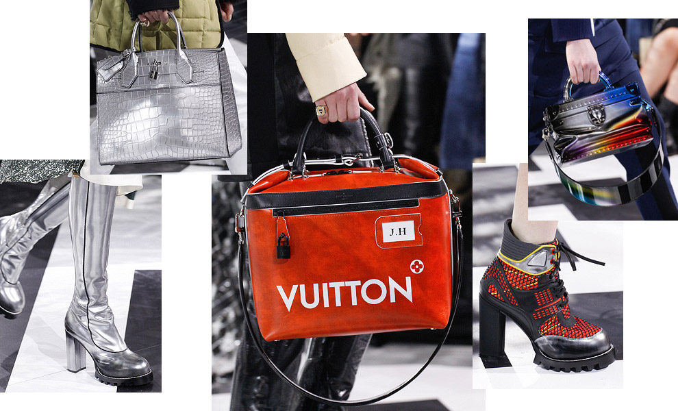 Сумки и обувь Louis Vuitton осень-зима 2016