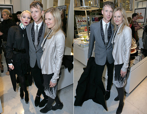 SELFRIDGES AnOther magazine's 10th birthday - Daphne Guinness, Jefferson Hack and Alannah Weston.jpg