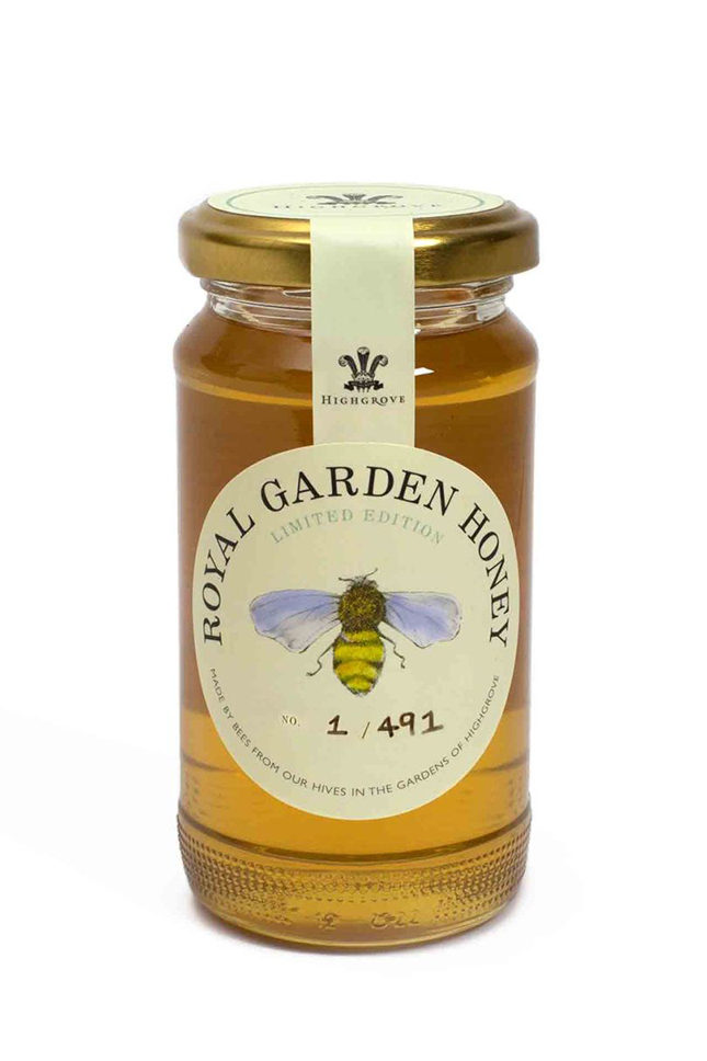 Honey from the Highrove gardens (£9.95)
